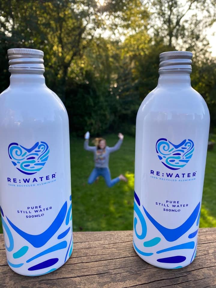 Aluminum bottle made with 100% recycled content - Tecnocap