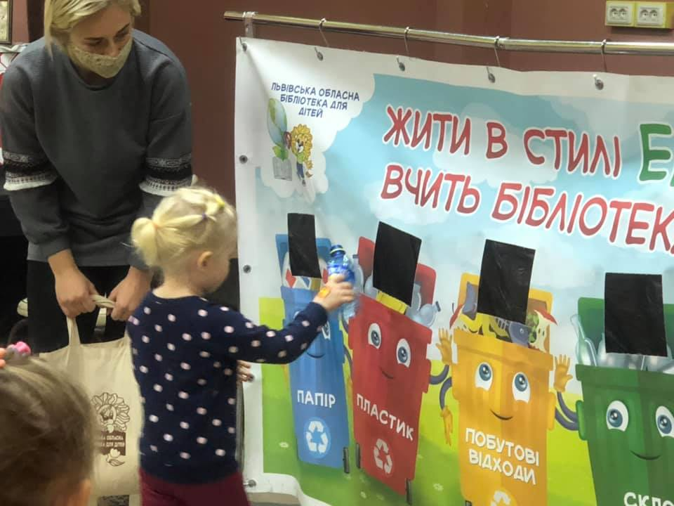 Tecnocap Ucraine - Sustainability and children education project in Zhovka
