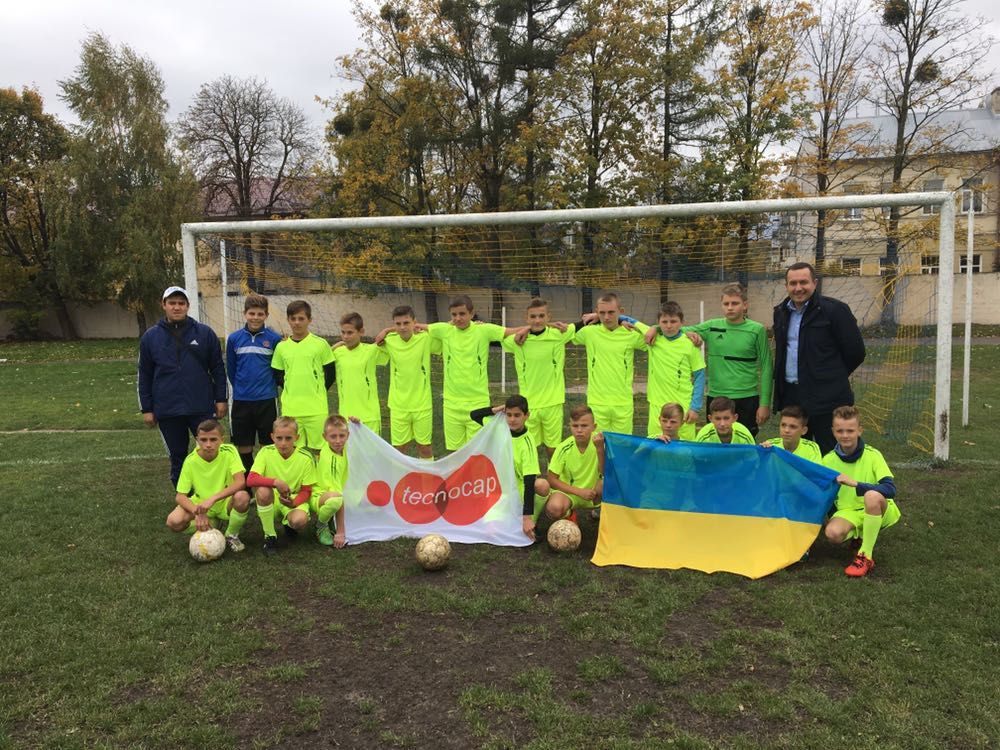 Tecnocap CSR Ukraine - Support youth sports schools in Zhovkva