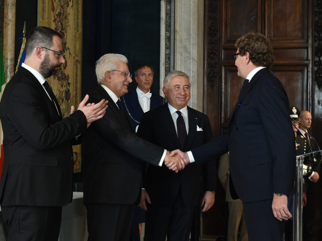 Michelangelo Morlicchio awarded the title of Master of Labour