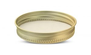Aluminum 70G metal closures for food and home canning - mason jars