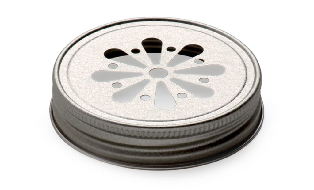 Candle containers closures - Aluminum and tinplate caps 70G closures