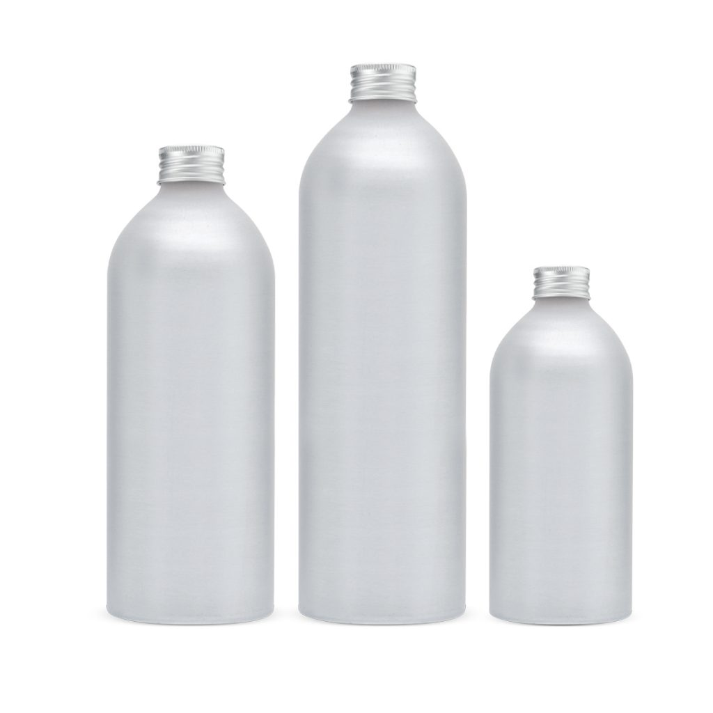 Aluminium bottles manufacturer and aluminum aerosol cans - Tecnocap metal packaging