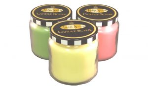 Candle closures plugs - metal closures for threadless containers