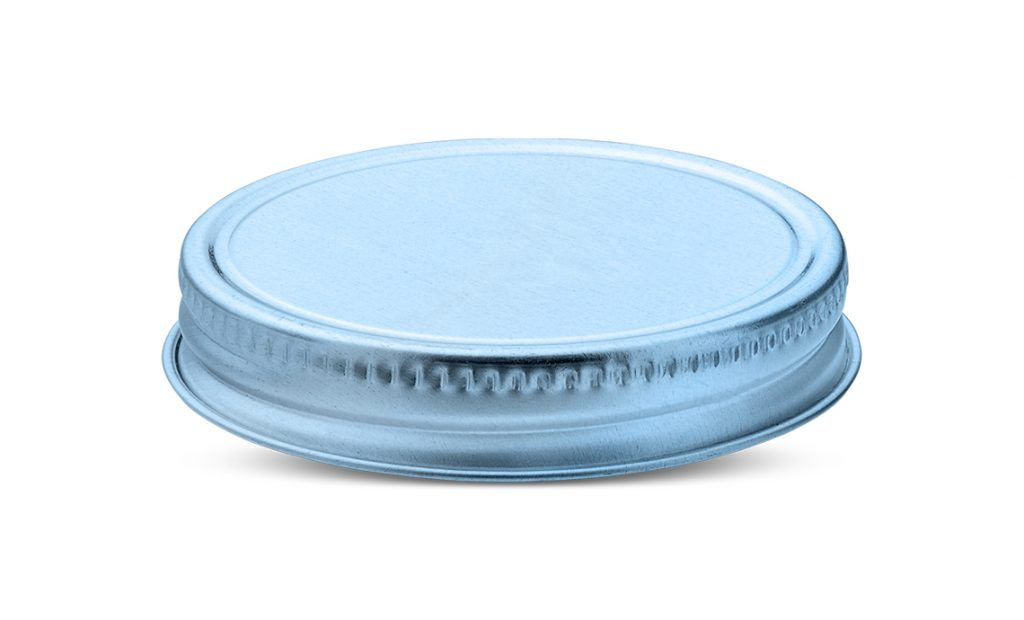 Continuous Thread Caps for plastic jars and plastic containers - Tecnocap - 70G aluminum and tinplate closure for candles, cosmetics, mason jars