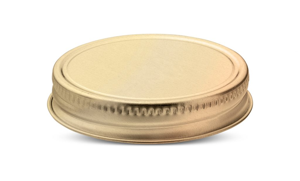 Beverage closures for jars for drinks with straw - Tecnocap Metal Closures