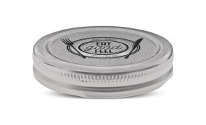 Twist closures for glass jars -Lithographed Metal closures for food packaging
