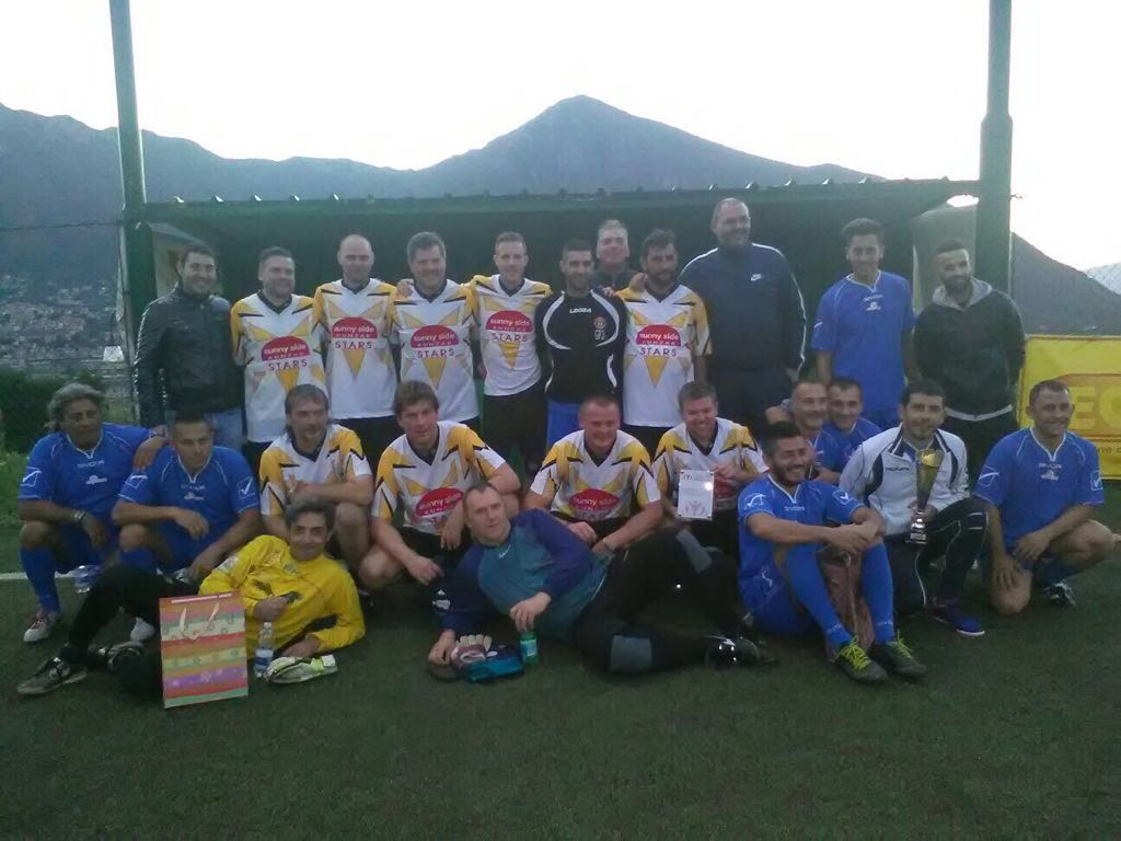CSR Programme - Tecnocap workers play together in a football league