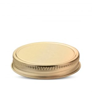 Metal CT Closures screw caps for food glass jars and plastic containers -Beverage closures for jars for drinks with straw - Tecnocap Metal Closures