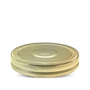 Twist closures for glass jars - Metal closures for food packaging