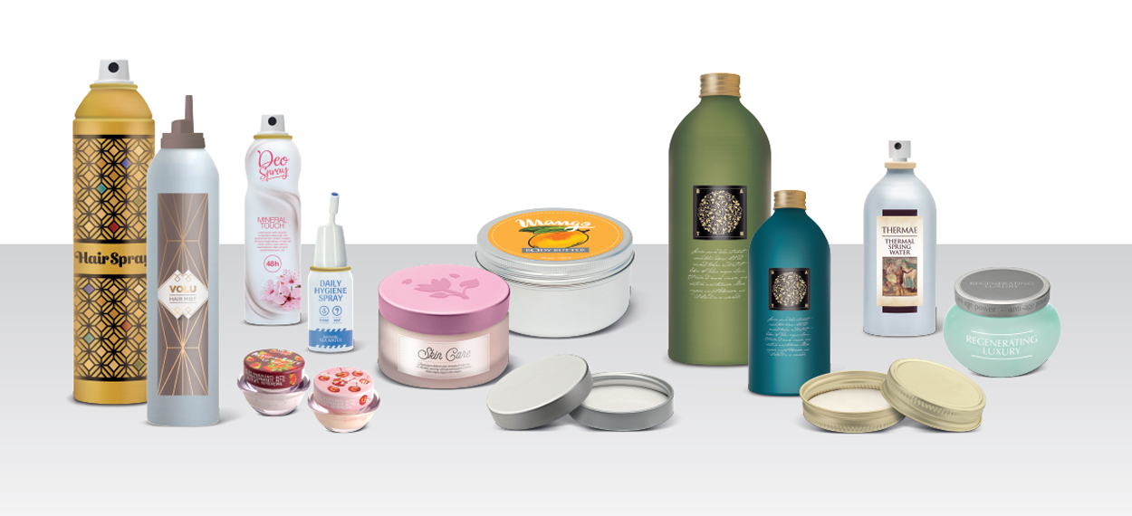 Sustainability boosts metal for beauty packaging.