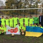 Tecnocap sponsored youth sports school in Ukraine