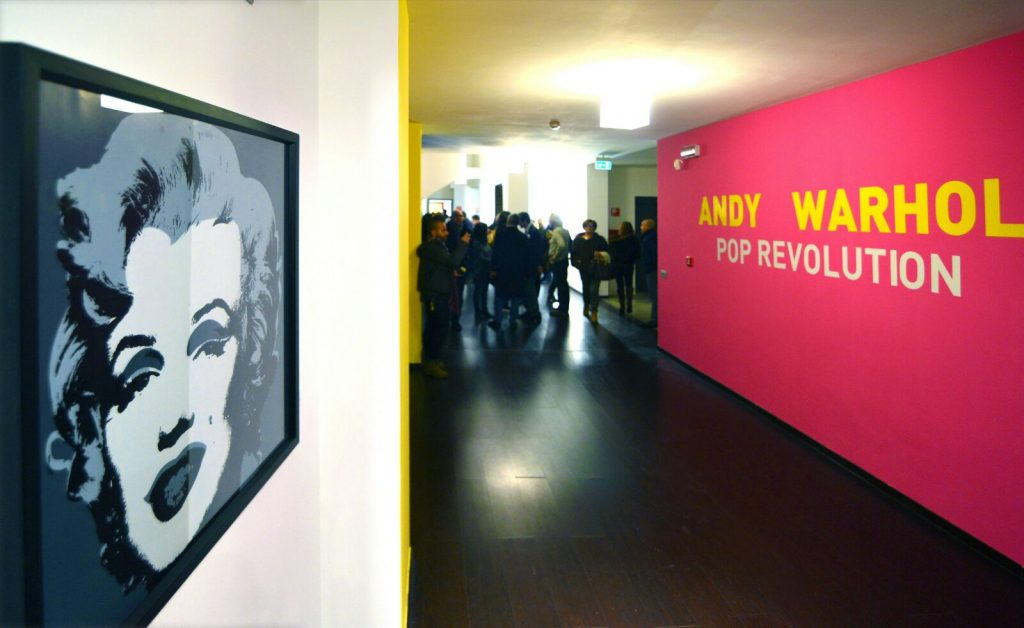CSR projects - Andy Wharol Art Event in Amalfi Coast